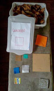 DICAS Homeschooling: Esta semana as formas estou aprendendo o Quadrado #geometria