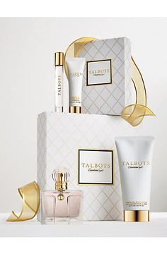 Timeless, classic, and feminine. Our Talbots Fragrance is the perfect scent for your heart's desire.