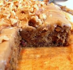 The English Kitchen: Sticky Toffee Pudding Bars