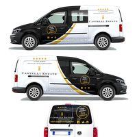 Design our new Castelli Estate wine van! Ford Raptor, Van Signage, Car Lettering, Vehicle Signage, Eco Friendly Cars, Volkswagen Caddy, Van Wrap, Food Truck Design, Van Design