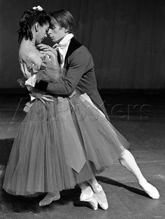 Margot Fonteyn and Rudof Nureyev