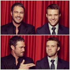 Chicago Fire's Taylor Kinney and Jesse Spencer