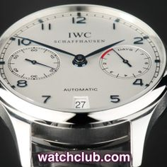 """IWC Portuguese 7-Day Power Reserve - """"IWC Warranty"""" REF: IW500107 