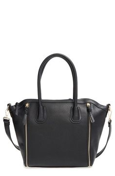 Sole Society 'Kaylen' Faux Leather Crossbody Satchel available at #Nordstrom