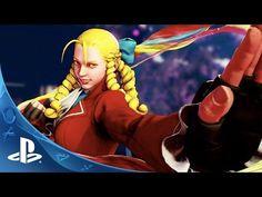 Street Fighter V - Karin Trailer   PS4 - YouTube