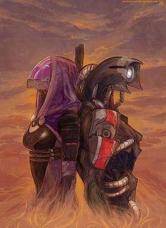ME3 - A future for Rannoch by lorna-ka.devianta... #MassEffect