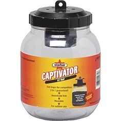 Captivator Fly Trap CENTRAL LIFE SCIENCE Insect Traps & Bait/ Outdoors 14680
