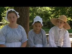 SL w13 - Kid in the 18th century - Colonial Williamsburg video - ss