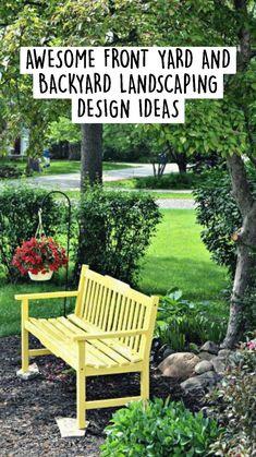 Garden Yard Ideas, Garden Crafts, Lawn And Garden, Indoor Garden, Garden Projects, Outdoor Gardens, Cottage Garden Design, Garden Landscape Design, Garden Oasis