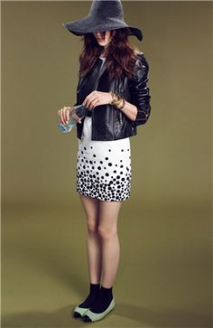 Miss Wu Embroidered Faille Dress