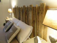 Tête de lit en bois de palette par JMCreations55 sur Etsy