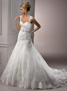 Maggie Sottero Sarchi... (no straps) for Lynzie