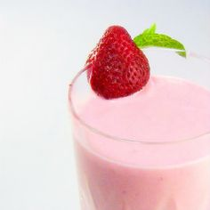 Strawberry Orange Smoothies...from the kitchen of One Perfect Bite