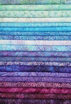 Jewel Toned Batik St