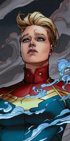 Captain Marvel (Carol Danvers) | art by David Marquez