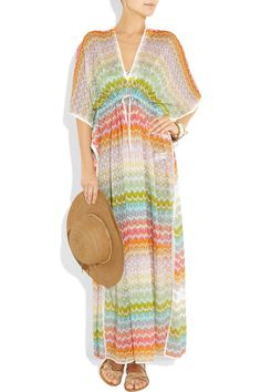 Missoni knit caftan. Mood NYC has tons of real Missoni knits in a summer weight.