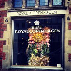 Prachtige etalages bij Royal Copenhagen