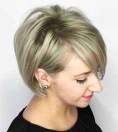 #short-haircuts 30 Most Attractive Short Hairstyles for Thin Hair #haircut #color #Ideas #celebrity#30 #Most #Attractive #Short #Hairstyles #for #Thin #Hair