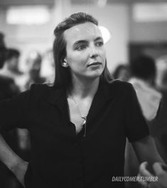 Your source for all things Oksana Astankova (Villanelle) from the BBC America series Killing Eve and the actress who plays her, Jodie Comer. English Actresses, British Actresses, Actors & Actresses, Season 2 Episode 1, Jodie Comer, Just Girl Things, Happy Things, Black And White Pictures, Ohana