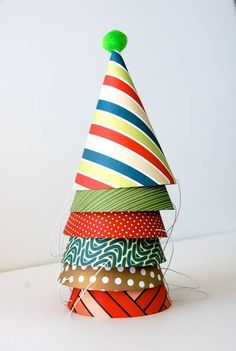 Benton Collection Party Hats - $6.99. https://www.bellechic.com/products/a157db4e97/benton-collection-party-hats