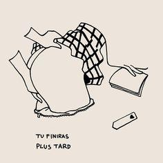 Die minimalistisch-sinnlichen Zeichnungen von Petites Luxures - KlonBlog