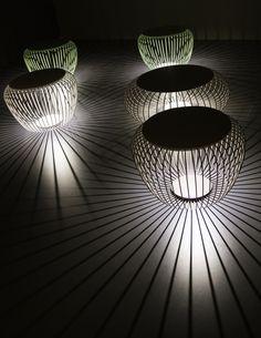 Lampada da terra a LED in acciaio MERIDIANO by @vibialight | design Jordi Vilardell