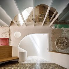 Architectural firm flores & prats beautiful restoration of an historical building