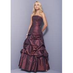 wine colored dress | Wine Color Prom Dresses Ball [PD-0036] - US$142.80 : Wedding Dresses