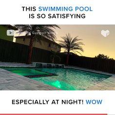 Amazing Swimming Pools, Swimming Pool Tiles, Swiming Pool, Swimming Pools Backyard, Swimming Pool Designs, Night Swimming, Swimming Videos, Swimming Pool Builders, Small Pool Backyard