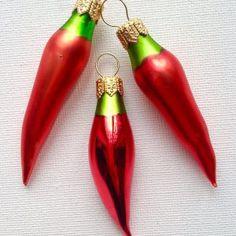 Jalapeño Pepper Ornaments