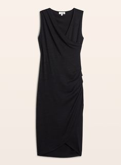Aritzia Wilfred Free Izidora Dress in Black