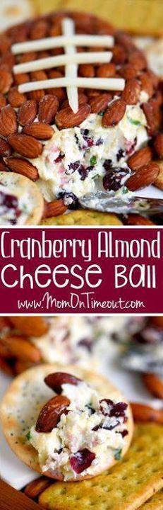 Get ready to impress Get ready to impress with this unbelievably...  Get ready to impress Get ready to impress with this unbelievably delicious Cranberry Almond Cheese Ball - made with just FIVE ingredients! This easy recipe is great for entertaining and parties! Recipe : http://ift.tt/1hGiZgA And @ItsNutella  http://ift.tt/2v8iUYW