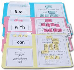 Sight Word Practice Books