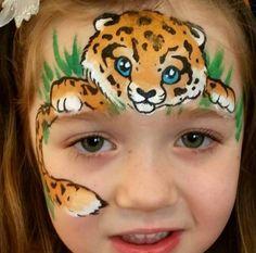 Baby leopard by Olga Meleca