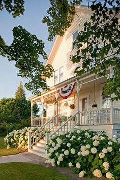 The Historic Orchard House of Door County Wisconsin is Located Across the Street from Blacksmith Inn and is the Perfect House for Couples, Families or Groups