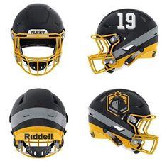 San Diego FLEET Football Army Football, Pro Football Teams, Football Uniforms, College Football, Football Helmets, Helmet Logo, Go Navy, Sports Logos, Professional Football
