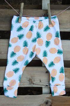 Pineapple Baby Leggings by SweetLucyJack | LFF Designs | www.facebook.com/LFFdesigns