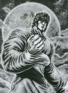 Kenshiro and the Moon by killowlsdead.deviantart.com on @DeviantArt