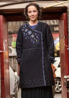 """Takki """"Li Wei"""" puuvillaa/viskoosia – Kiinan muuri – GUDRUN SJÖDÉN - vaatteita verkossa ja postimyynnissä"""