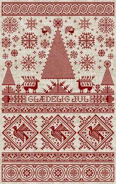 Nordic Christmas Chart - Glaedelig Jul