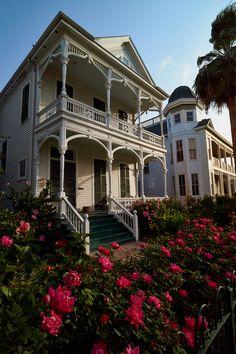 Rose Garden - Victorian District, Galveston, Texas