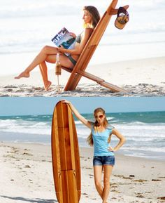 Surfboard Chair – Easy to Carry and Store