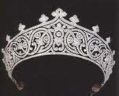 Tiara. Diamonds abound.