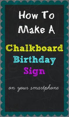 Birthday Chalkboard Template | Free Printable First Birthday Chalkboard Sign Girls 1st Birthday