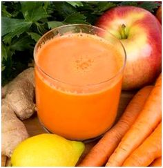 Healthy Apple Carrot Ginger Smoothie Recipe - Nutribullet Recipes This was much improved by adding a couple of spoonfuls of plain yogurt, some stevia, cinnamon, flax meal and ice.