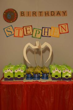 Toy Story Midway Mania Carnival Birthday Party Ideas | Photo 1 of 32 | Catch My Party