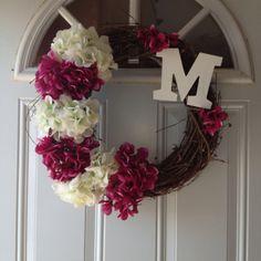 Summer wreath creation