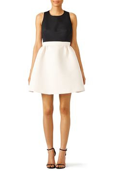 Rent White Colorblock Dress by kate spade new york for $60 - $80 only at Rent the Runway.