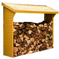 Wood Storage Sheds, Construction, Firewood, Coin, Houses, Building, Woodburning, Wood Fuel