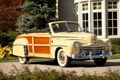1947 Ford Super Deluxe Woodie Sportsman Convertible